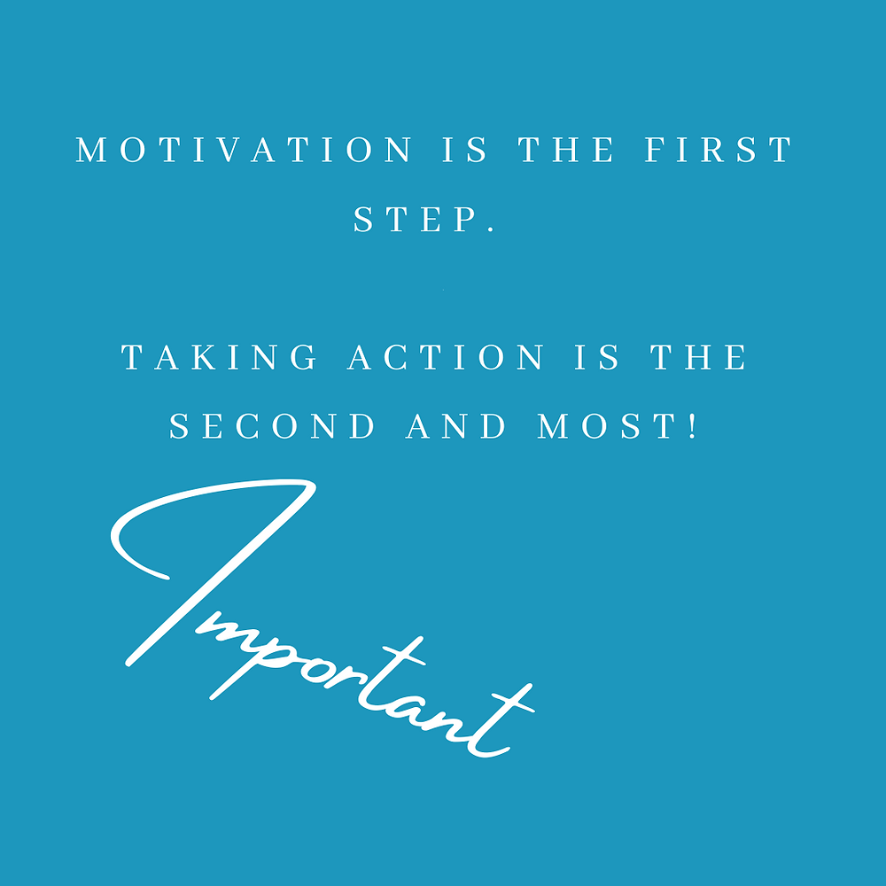 Take action to achieve your goals