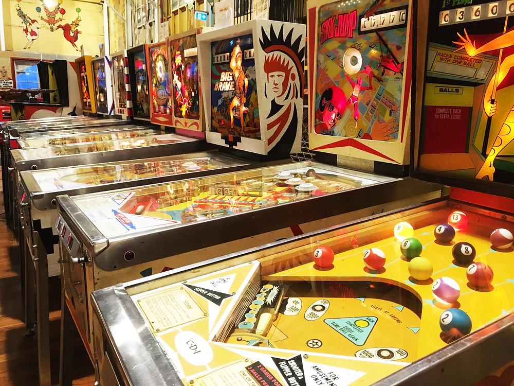 Luna Park Pinball Machines