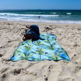 Tesalate Sand Resistant Beach Towels