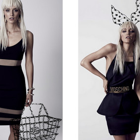 'The Wicked Game collection'; an 11 piece collection playing ode to the 'The Little Black Dress'