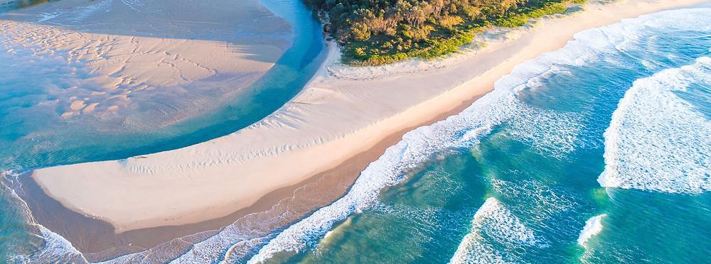 coastal drones yoga mats