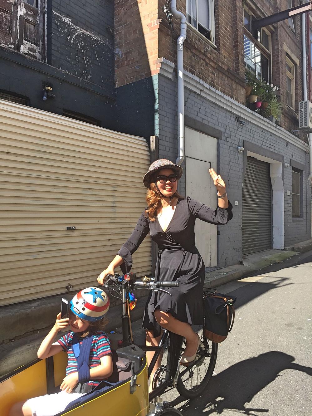 Bike riding Sydney