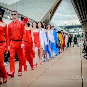 Dion Lee Opens MBFWA at Opera House