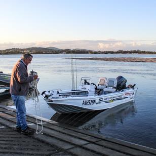 Fishing on Wallis Lake
