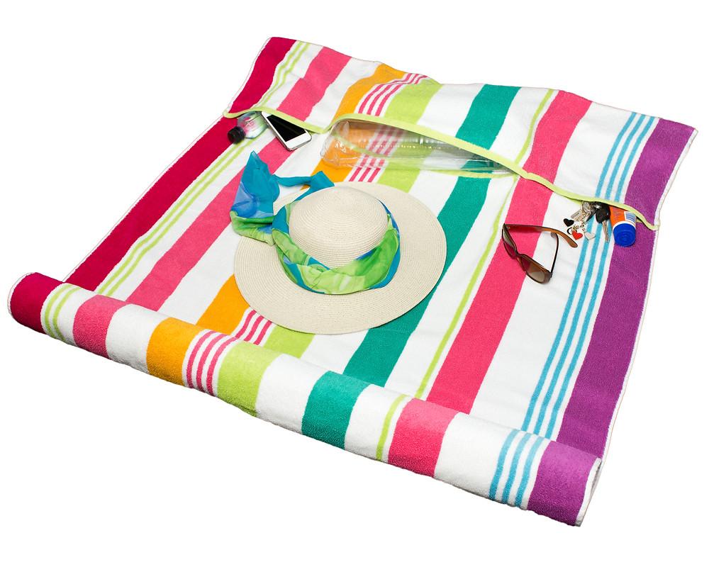 Koosh Beach Towel