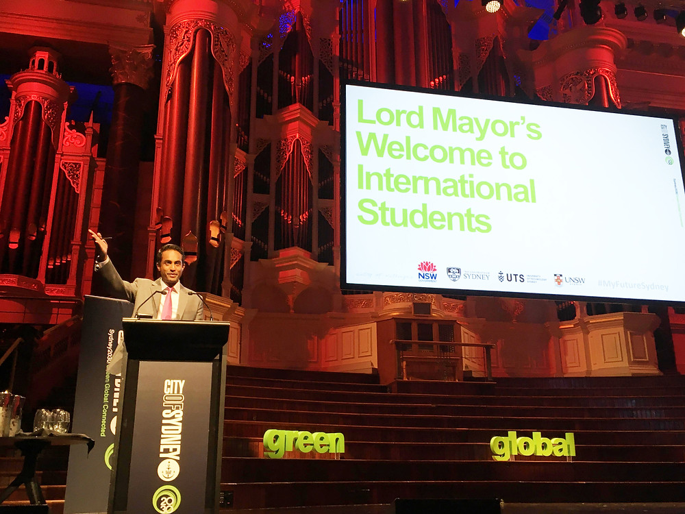 Sydney's Lord Mayor's Welcome to International Students