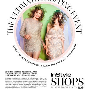 Join InStyle Magazine & Shop Like a Celebrity at a VIP Shopping Event