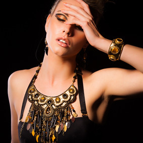 Couture jewellery by Lucy De Angelis