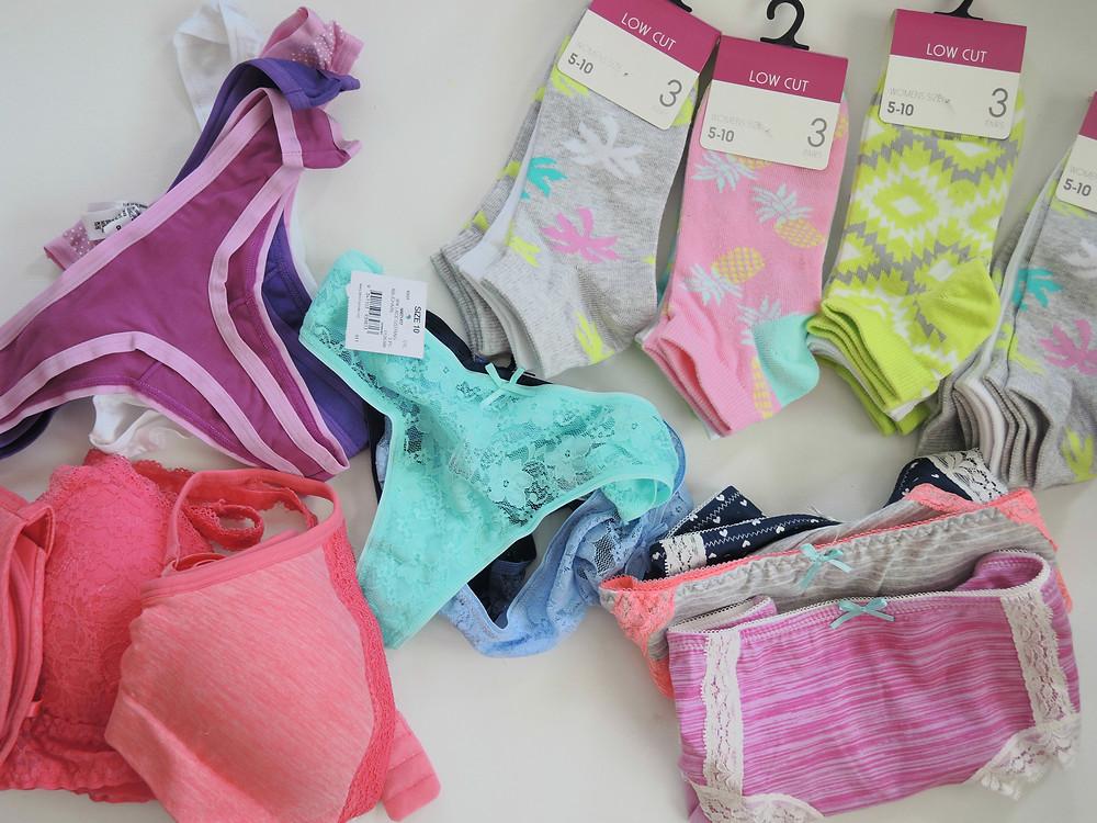 Kmart Underwear and socks