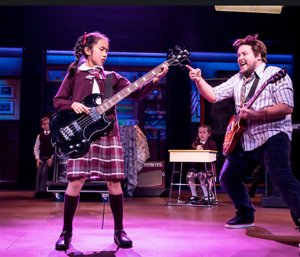 School of Rock theatre review sydney