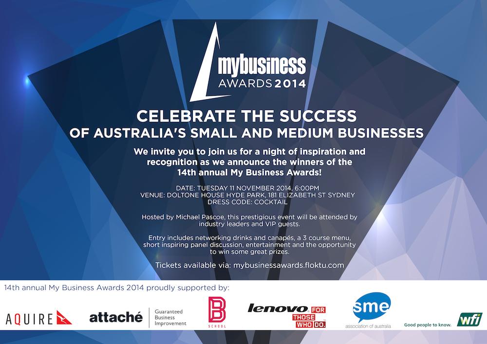 My Business Awards 2014
