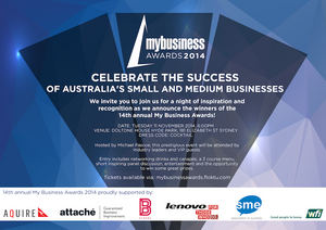My Business Awards 2014