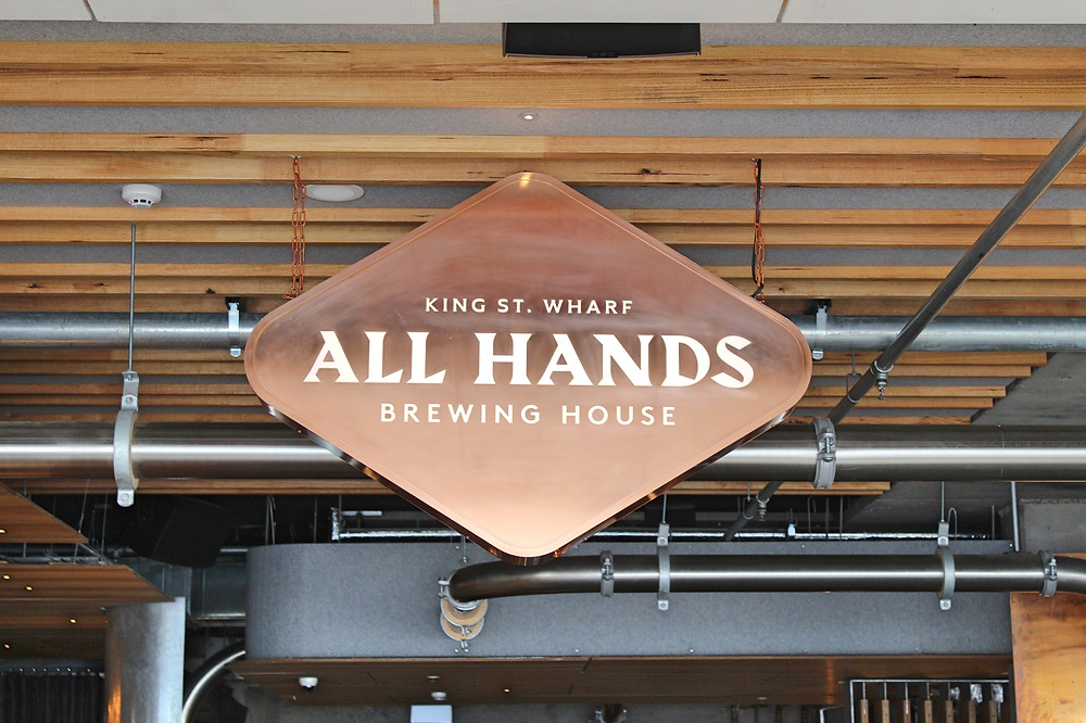 all hands brewery king st wharf