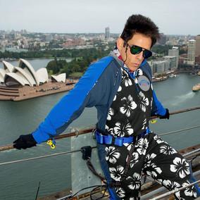 Derek Zoolander Climbs the Iconic Sydney Harbour Bridge