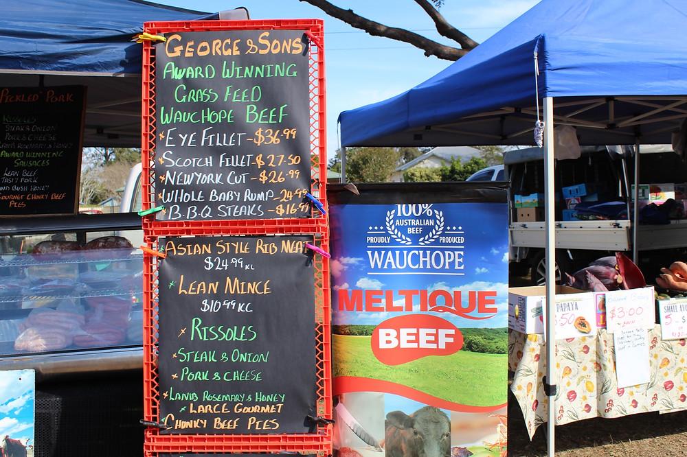 award winning wauchope beef