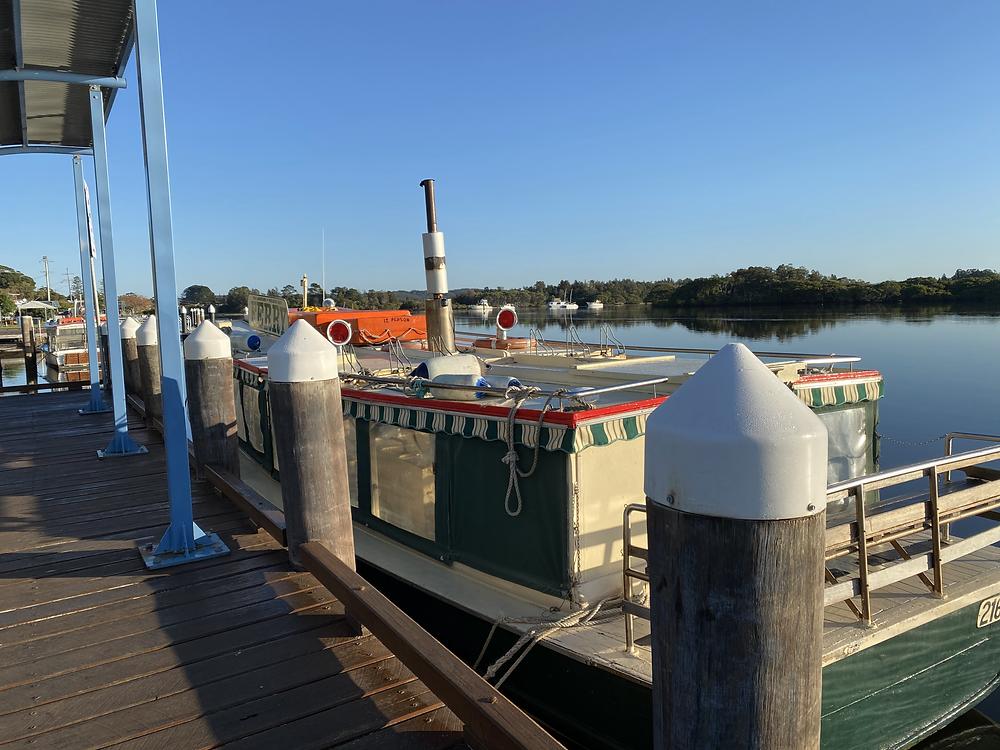 Tea Gardens Ferry