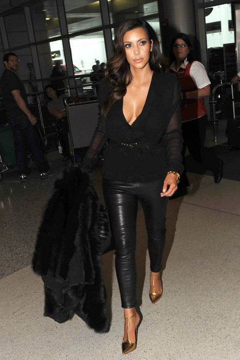 Kim Kardashian Leather