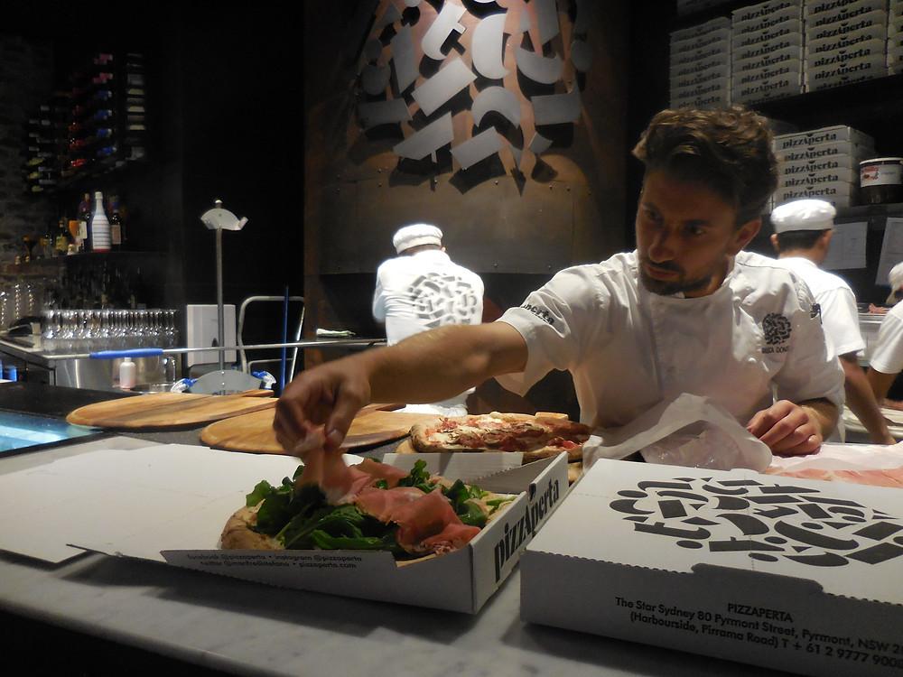 Best restaurants in Sydney Pizza Perta