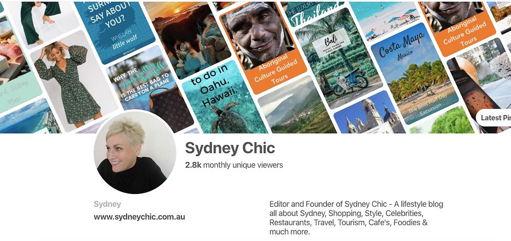 Sydney Chic Pinterest