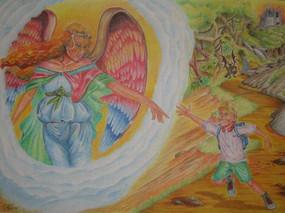 An Angel's Touch…..Friend