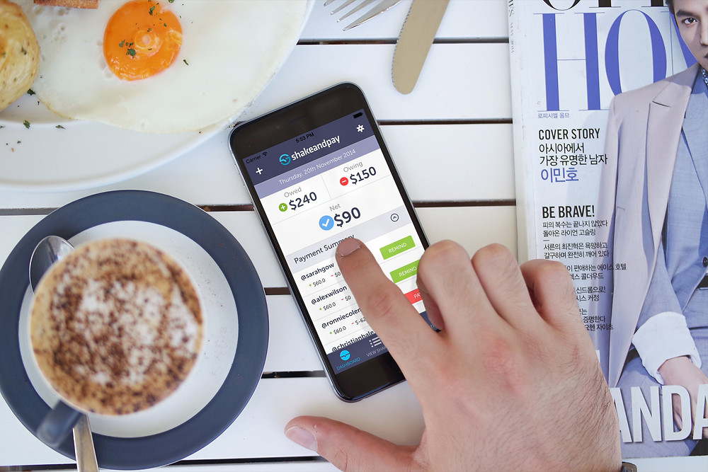 Shake and Pay App