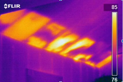 Thermal Imagine Cameral Building Inspections