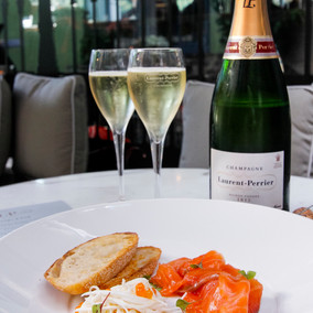 Champagne Laurent-Perrier has launched The L-P Bar at Jackies Paddington, The Intersection.