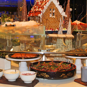 Feast at Sheraton on the Park Christmas in July Buffet