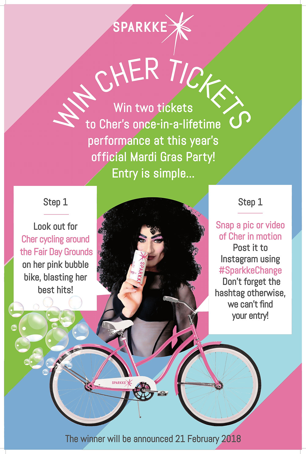 Win Cher TIckets