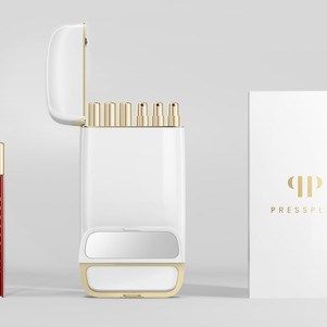 Pressplay Cosmetics Lets You Store Your Cosmetics in a Smartphone Size Capsule