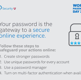 World Password day is April 5th - how Secure are you?