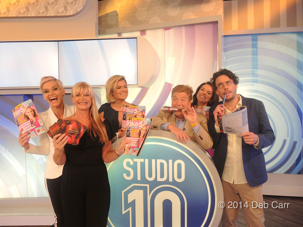 Sharina on Studio10