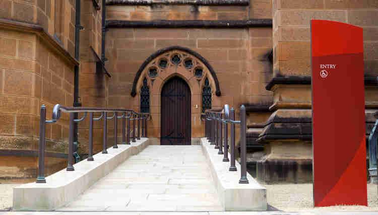 wheelchair access st mary's sydney