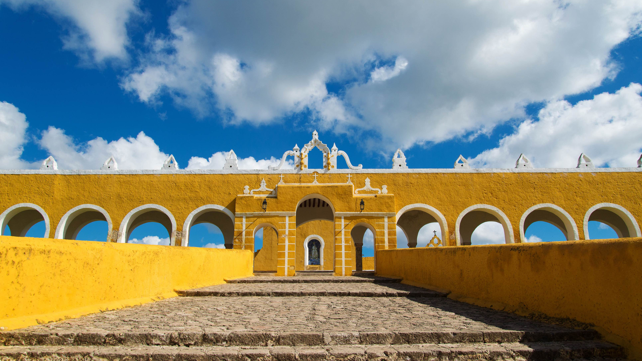 The whole of Mexico in general is one huge explosion of colour, but it's the infrastructure of Izamal, Mexico that makes it our third Most Colourful Destination. The small city of Izamal is endearingly referred to as 'The Yellow City' thanks to the colour most buildings are painted. Having significance from an archaeological sense, the city is known for the Pre-Colombian Maya civilisation that once called the area Izamal has since been built on, home.