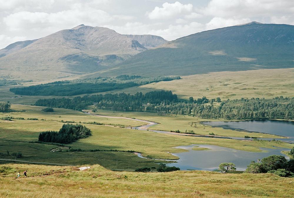 The West. Highland Way Scotland