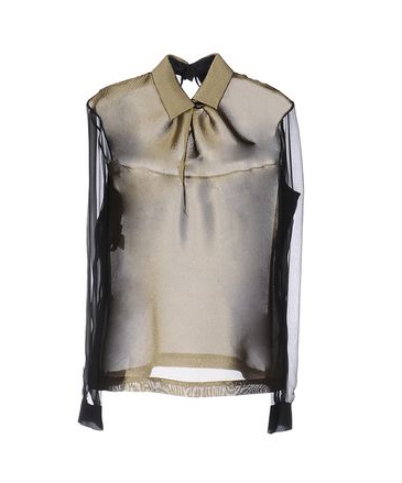 Add a statement blouse! This gorgeous Alberta Ferretti (made in Italy) is the perfect match to glam up the jeans. USD 339.00