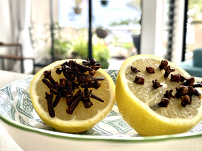 Natural Fly Repellant Using Lemon and Cloves