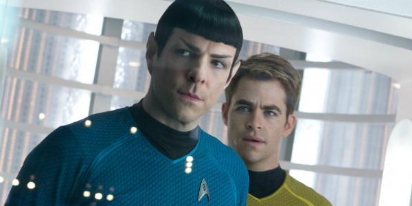 Star Trek Beyond Spock and Kirk