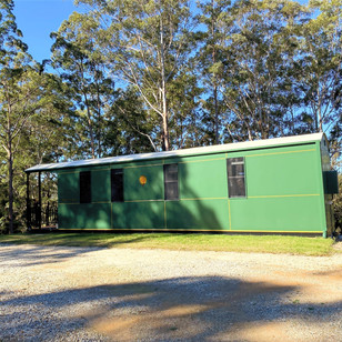 Numbucca Valley Train Carriages Mid North Coast NSW