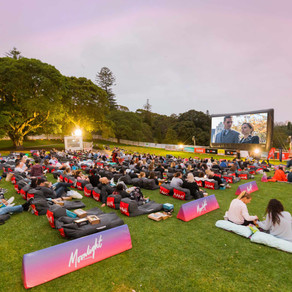 Moonlight Cinema and Coffee Cocktails
