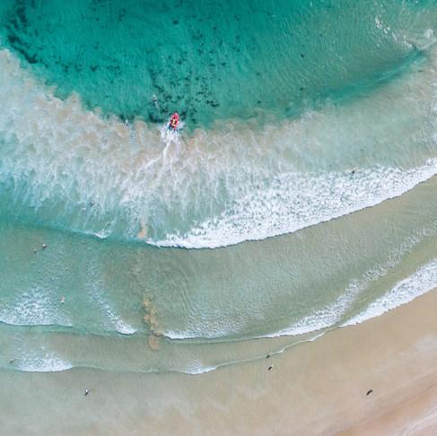 Coastal Drones Prints and Yoga Mats