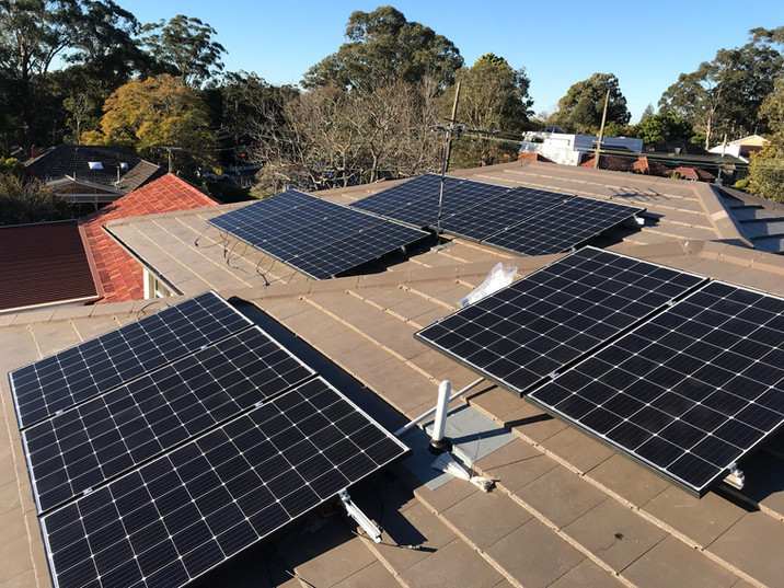 Solar Panels Turramurra