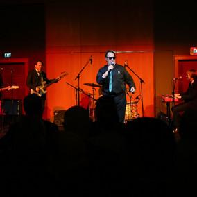 Dan Aykroyd performs at the Four Seasons Hotel to launch Crystal Head Vodka, AURORA