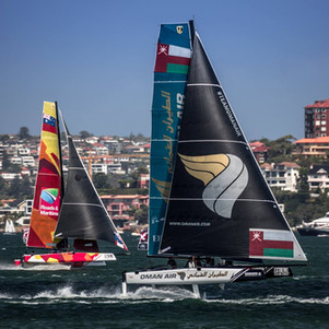 Extreme Sailing Series™ Exciting Penultimate Day in Sydney