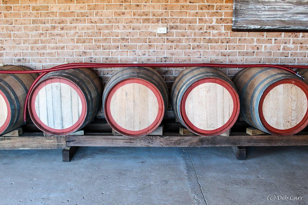 Wines produced in Oak Barrels