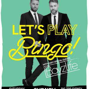 Bongo's Bingo is back in Australia! with… Boyzlife!