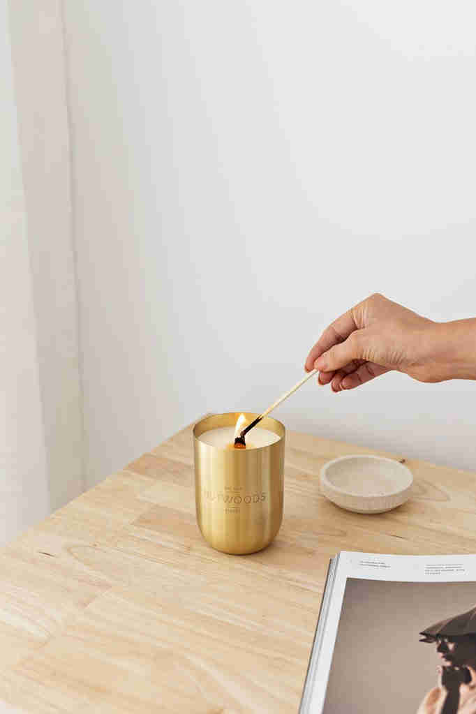 Hutwoods Herb Candle