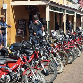 The Late Mail Postie Ride to Raise Money for Wings4kidz