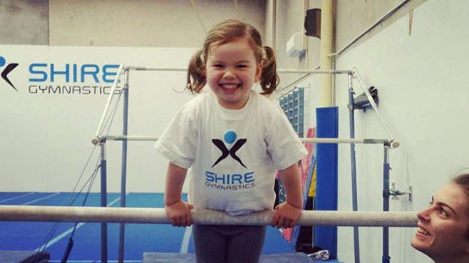 Our Kindy Gym classes develop the streng