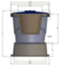filtros bio-natura, tanques plásticos